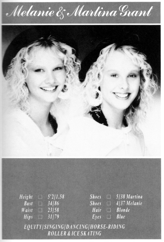 Fun house twins melanie and martina grant off funhouse first tv